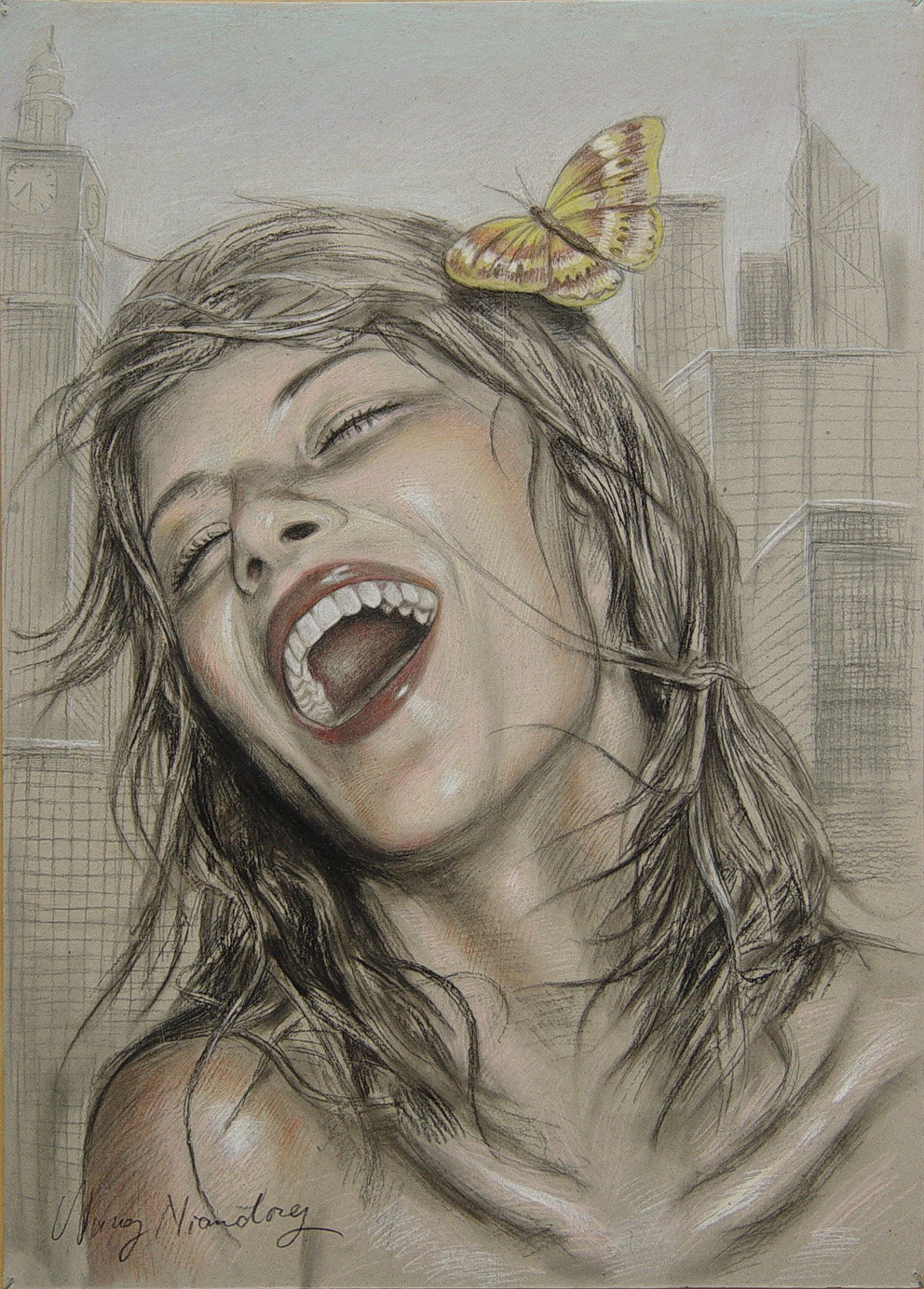 Laughing Girl (sold)
