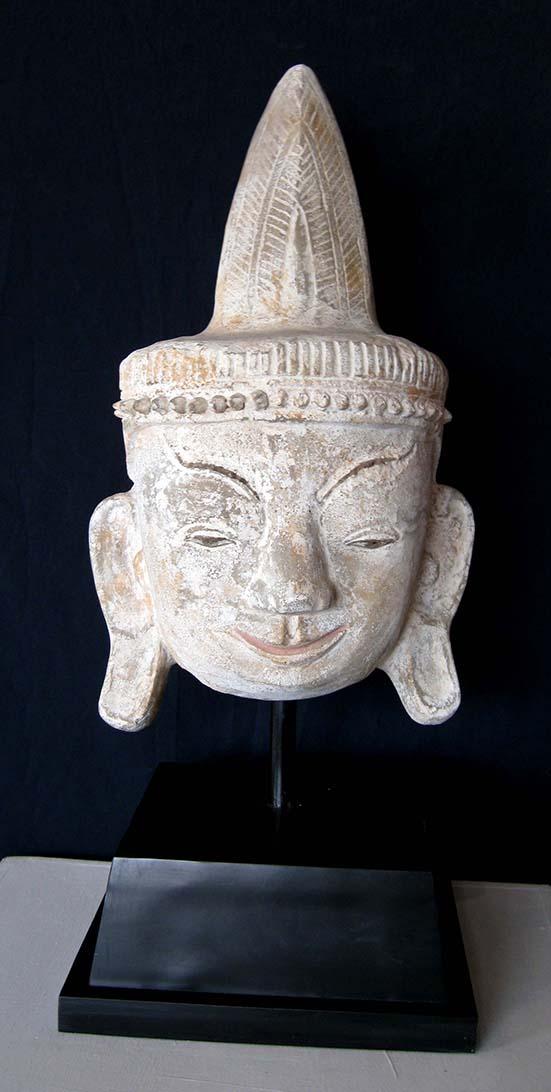 Pottery Bodhisattvas Head