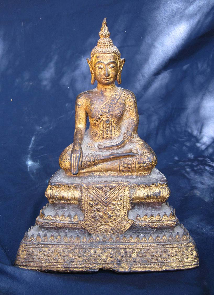 Seated Thai Buddha Ratanaa Kosin Period