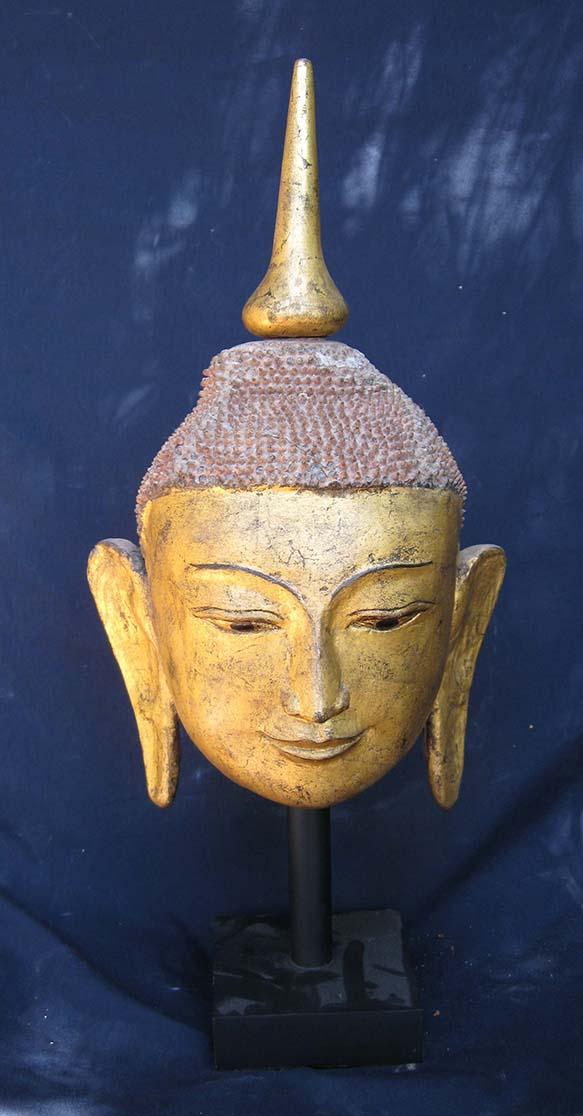 Shan Buddha Head