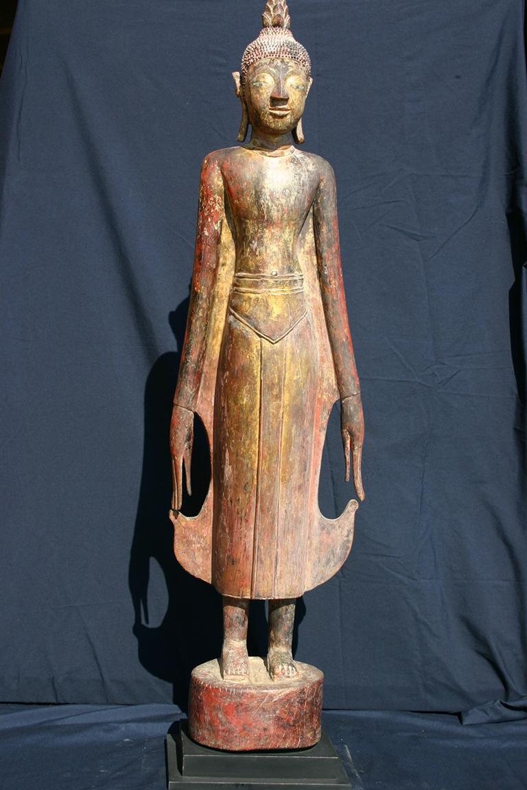 Standing Lao Buddha