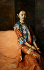 An Old Story of China (sold)