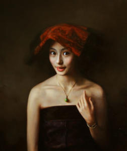 Ju Li's Portrait (sold)